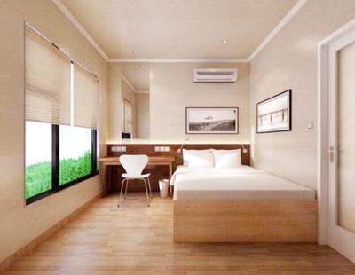 蜂芝侣舒适大床房